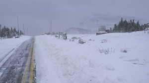Sept 30th- Logan Pass Closed Due to SNOW!